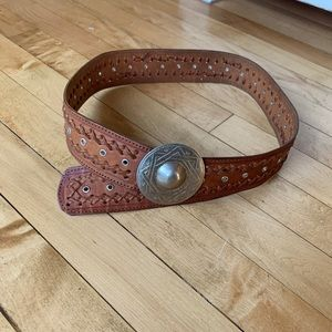 Moroccan Made Leather Belt